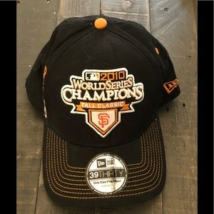 2010 World Series Champions SF Giants Baseball Cap